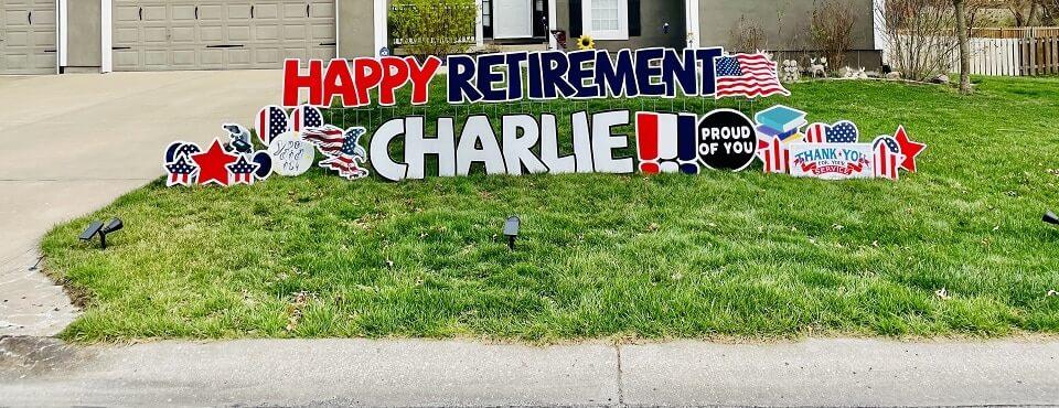 retirement charlie